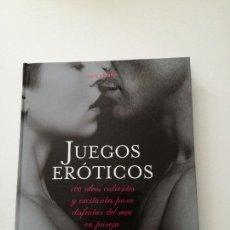 Libros de segunda mano: JUEGOS ERÓTICOS.. Lote 158905650