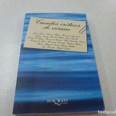 Libros de segunda mano: CUENTOS EROTICOS DE VERANO. AA.VV. TUSQUETS - N 4. Lote 159620498