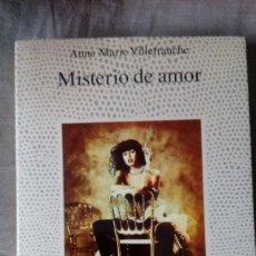 Livres d'occasion: MISTERIO DE AMOR - ANNE-MARIE VILLEFRANCHE - EDICIONES MARTÍNEZ ROCA - LA FUENTE DE JADE. Lote 159973714