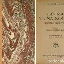Libros de segunda mano: GALLAND, A. MIL NOCHES Y UNA NOCHE. CUENTOS ORIENTALES. 1947.. Lote 161095698