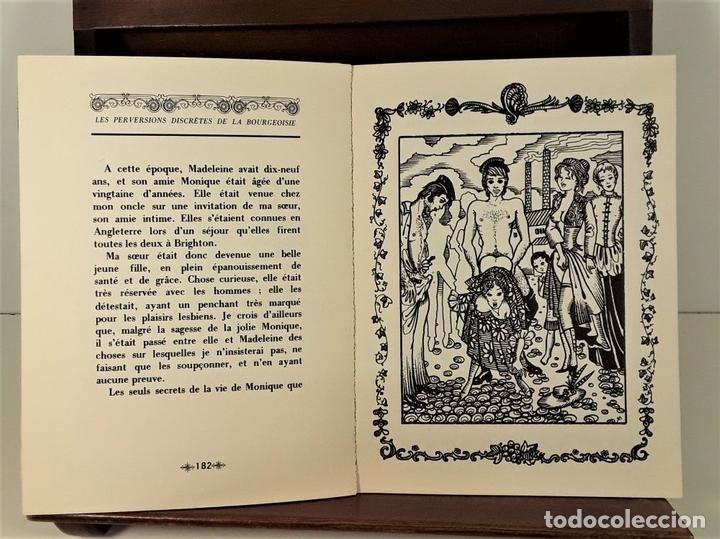 Libros de segunda mano: LES PERVERSIONS DISCRETES DE LA BOURGEOISIE. XAVIER DE LA MOTTE. PARÍS. 1973. - Foto 7 - 165500886