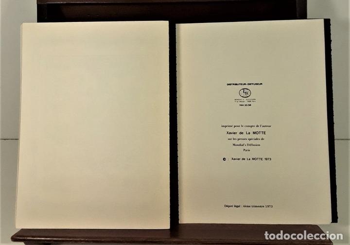 Libros de segunda mano: LES PERVERSIONS DISCRETES DE LA BOURGEOISIE. XAVIER DE LA MOTTE. PARÍS. 1973. - Foto 8 - 165500886
