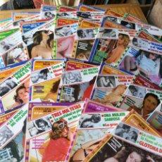 Libros de segunda mano: GRAN LOTE DE 23 VIDEOLIBRO (SERIE AZUL)- PUBLICACIÓN PARA ADULTOS, 1980.. Lote 166176646