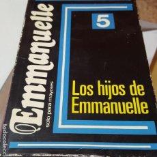 Libros de segunda mano: LOS HIJOS DE EMMANUELLE - EMMANUELLE ARSAN. Lote 166313350