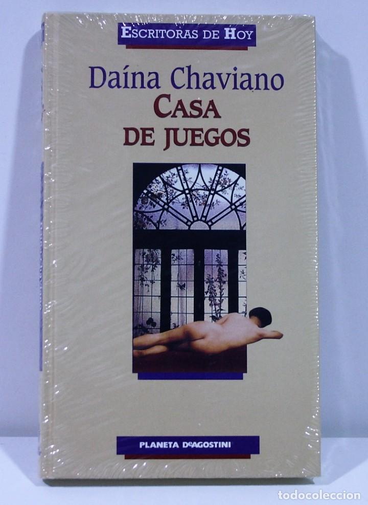 CASA DE JUEGOS / DAINA CHAVIANO / PLANETA DEAGOSTINI (Libros de Segunda Mano (posteriores a 1936) - Literatura - Narrativa - Erótica)