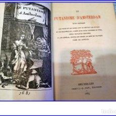 Libros de segunda mano: AÑO 1893: PUTANISMO EN AMSTERDAM. PROSTITUCIÓN. RARO LIBRO DEL SIGLO XIX.. Lote 168998660