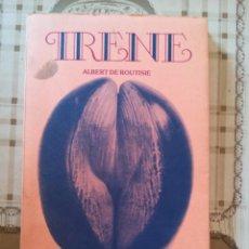 Libros de segunda mano: IRENE - ALBERT DE ROUTISIE - EN CATALÀ. Lote 171622213