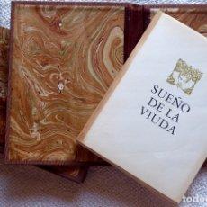 Libros de segunda mano: L-5406. SUEÑO DE LA VIUDA,FRAY MELCHOR DE LA SERNA. CON 6 AGUAFUERTES DE JOSE LUIS FERRER.NUMERADO. Lote 173596212