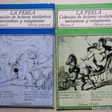 Libros de segunda mano: LOTE LA PERLA Nº 2 Y 3 ED POLEN 1979. Lote 174258692