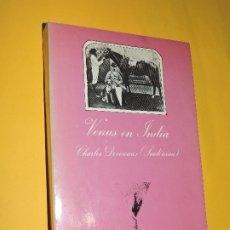 Livres d'occasion: VENUS EN INDIA. DEVERAUX, CHARLES. 3ª EDICIÓN. ED. TUSQUETS. BARCELONA, 1986. Lote 175020592