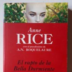 Libros de segunda mano: LIBRO EL RAPTO DE LA BELLA DURMIENTE. Lote 179067763
