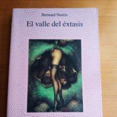 Libros de segunda mano: EL VALLE DEL ÉXTASIS - BERNARD NORRIS (COLECCIÓN LA FUENTE DE JADE DE ALCOR). Lote 194272613