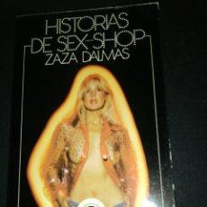 Libros de segunda mano: ZAZA DALMAS, HISTORIAS DE SEX SHOP. Lote 182551730