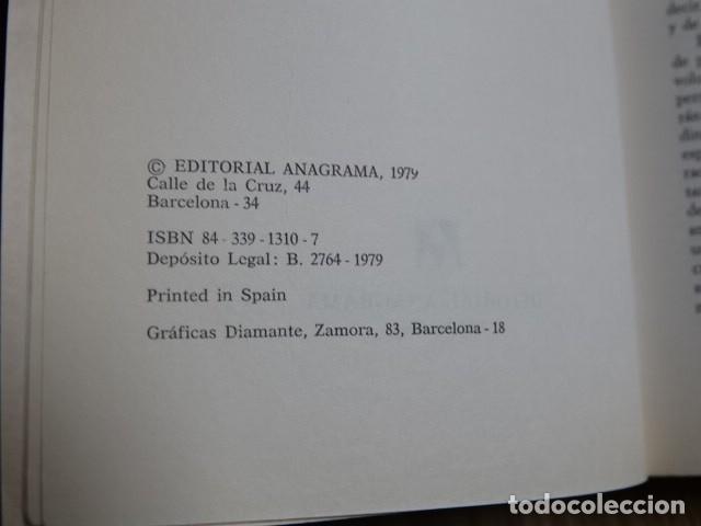 Libros de segunda mano: El nuevo desorden amoroso Pascal Bruckner y Alain Finkielkraut Editorial Anagrama año 1979 - Foto 4 - 182759440
