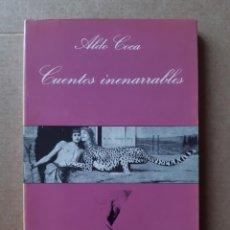Libros de segunda mano: CUENTOS INENARRABLES. ALDO COCA. TUSQUETS EDITORES. BARCELONA. LA SONRISA VERTICAL. 1986.. Lote 252593430