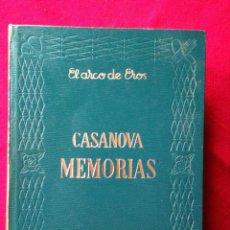 Libros de segunda mano: CASANOVA MEMORIAS I Y II EDAF 1968 EL ARCO DE EROS. Lote 187496543