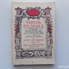Libros de segunda mano: LIBRERIA GHOTICA. TERESA FILÓSOFA. NOVELA ERÓTICA DEL SIGLO XVIII. 1978. FACSÍMIL.. Lote 190633870