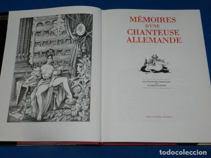 Libros de segunda mano: (MF) MEMOIRES DUNE CHANTEUSE ALLEMANDE ILLUSTRATIONS DE GEORGES PICHARD 1983 - Foto 2 - 192810478