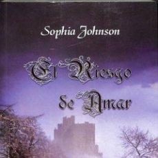 Libros de segunda mano: EL RIESGO DE AMAR - SOPHIA JOHNSON - NEFER-JLR - SHALOTT. Lote 194259206