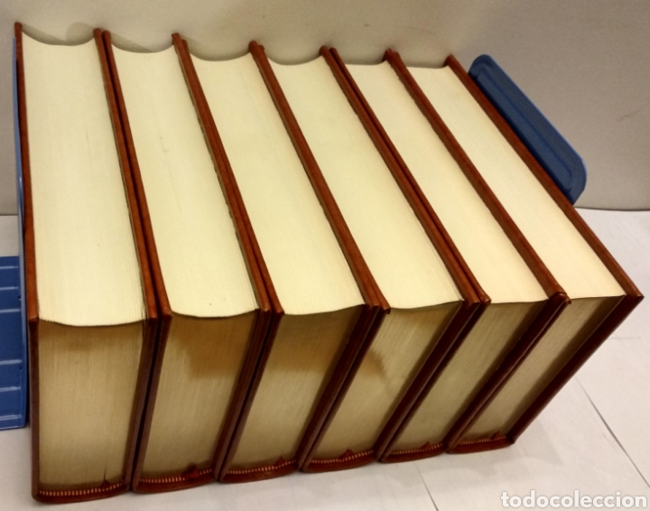 Libros de segunda mano: MEMORIAS DE JACOBO CASANOVA DE SEINGALT. Círculo del Bibliófilo, 1979. Obra completa, 6 tomos. - Foto 3 - 194339752