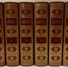 Libros de segunda mano: MEMORIAS DE JACOBO CASANOVA DE SEINGALT. CÍRCULO DEL BIBLIÓFILO, 1979. OBRA COMPLETA, 6 TOMOS.. Lote 194339752