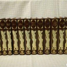 Libros de segunda mano: COLECCIÓN COMPLETA, CLÁSICOS UNIVERSALES DE LA LITERATURA EROTICA, (18 LIBROS) 1978. Lote 194891220