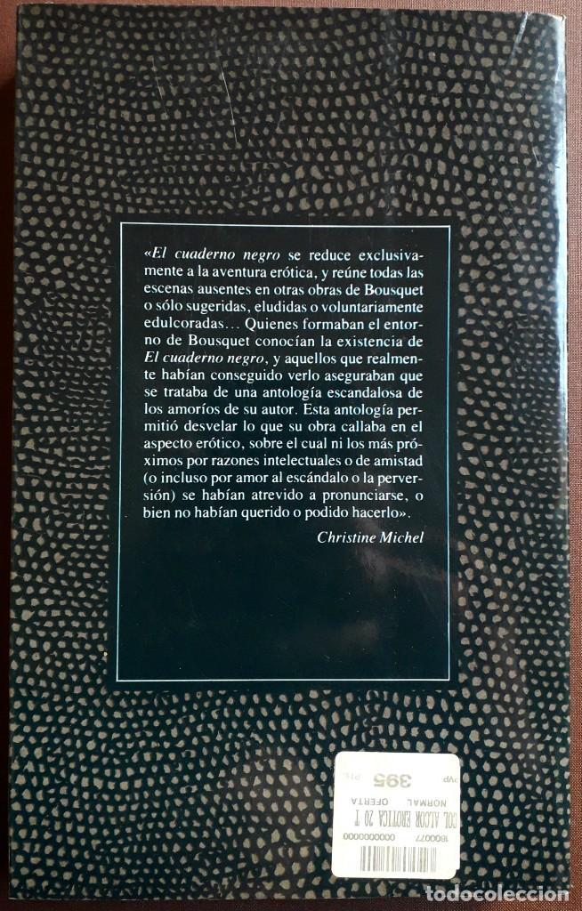 Libros de segunda mano: Jöe Bousquet . El cuaderno negro - Foto 2 - 195271498