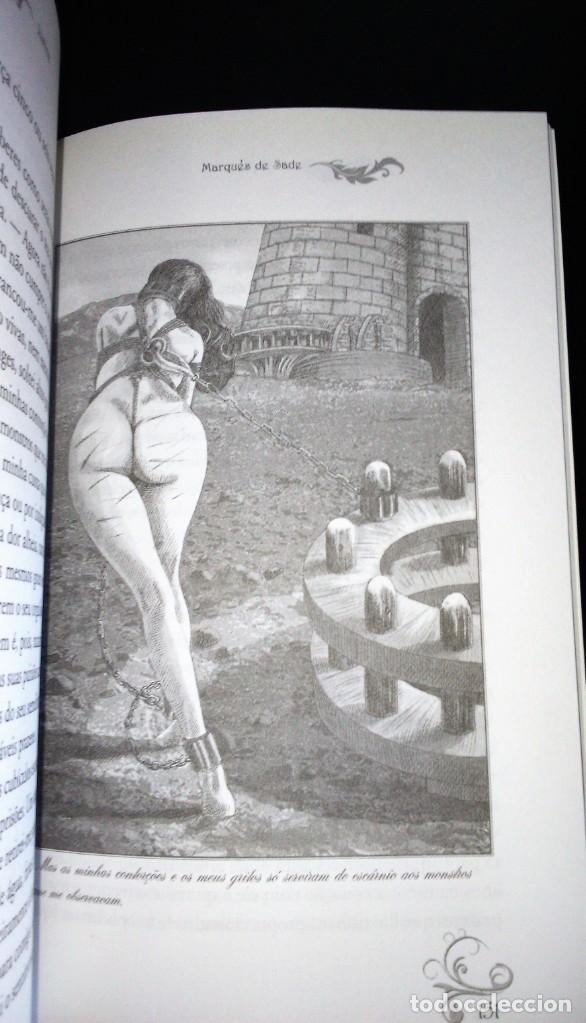 Libros de segunda mano: Justine de Marquês de Sade - Foto 3 - 195337398