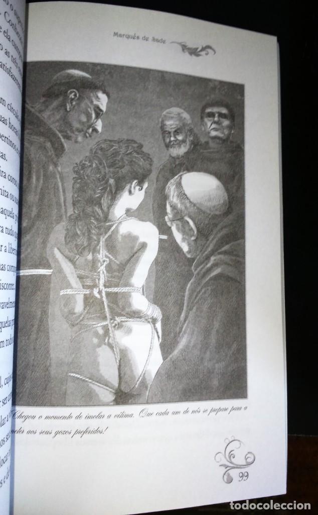 Libros de segunda mano: Justine de Marquês de Sade - Foto 4 - 195337398
