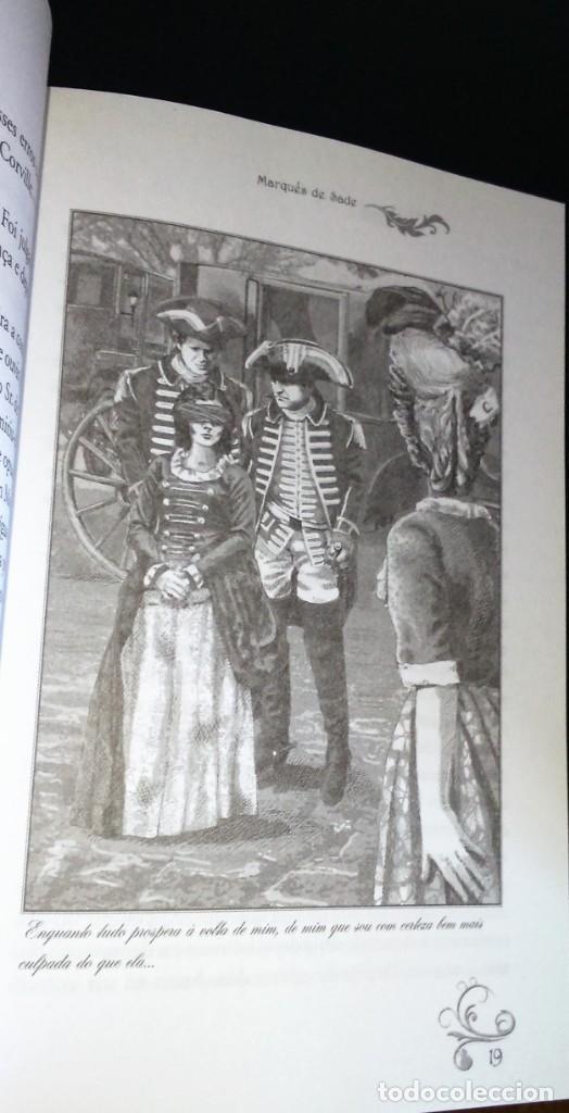 Libros de segunda mano: Justine de Marquês de Sade - Foto 5 - 195337398