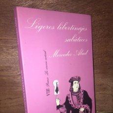 Livros em segunda mão: - LIQUIDACION! - LIGEROS LIBERTINAJES SABATICOS - MERCEDES ABAD - TUSQUETS, LA SONRISA VERTICAL. Lote 196044093