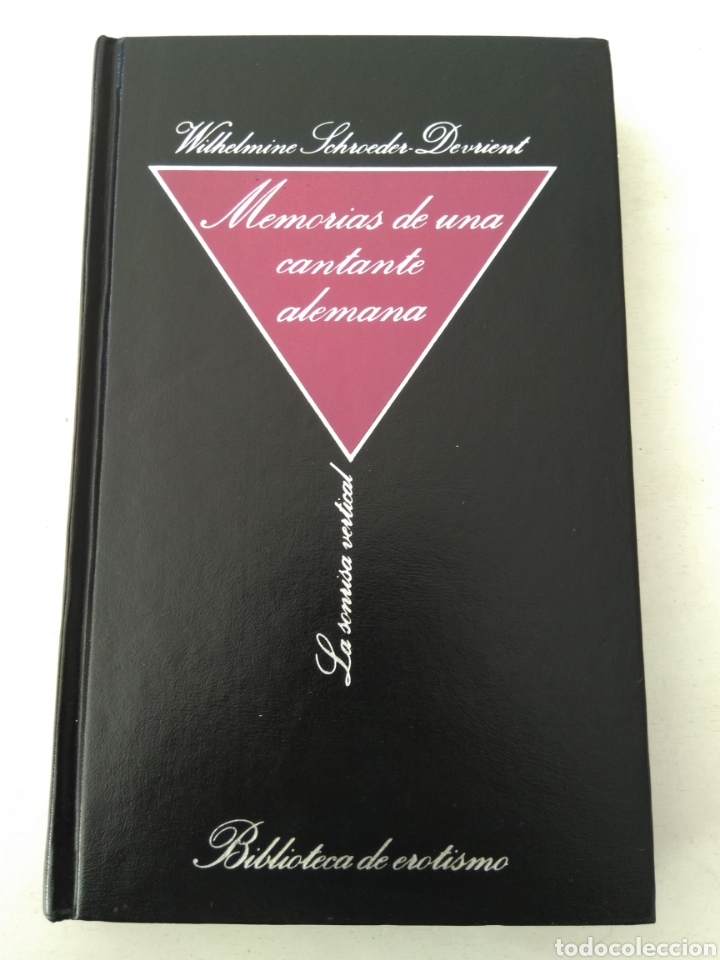 MEMORIAS DE UNA CANTANTE ALEMANA (Libros de Segunda Mano (posteriores a 1936) - Literatura - Narrativa - Erótica)