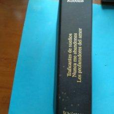 Libros de segunda mano: TRES OBRAS DE HAROLD ROBBINS .MUNDO ACTUAL DE EDICIONES BOBLIOTECA SIGLO XX. Lote 198468498