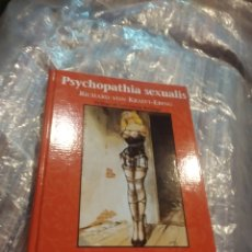 Libros de segunda mano: PSYCHOPATHIA SEXUALIS. 69 HISTORIAS DE CASOS. KRAFFT- EBING, R. V. LA MÁSCARA. VALENCIA, 2000. Lote 199404402