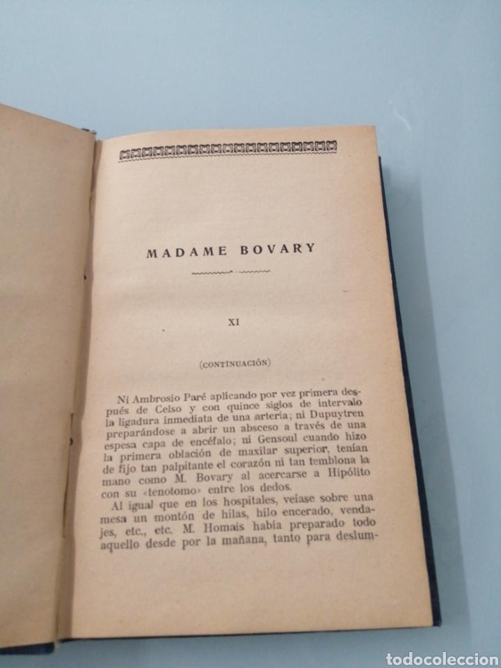 Libros de segunda mano: MADAME DE BOVARY. GUSTAVO FLAUBERT. TOMO SEGUNDO. CIRCA 1950. - Foto 2 - 202542492