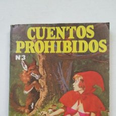 Livres d'occasion: CUENTOS PROHIBIDOS. Nº 3. CAPERUCITA ROJA. EDICIONES ACTUALES. TDK181. Lote 206463483
