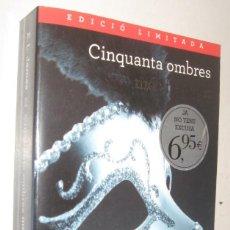 Libros de segunda mano: CINQUANTA OMBRES MES FOSQUES - E. L. JAMES - EN CATALAN. Lote 207006350
