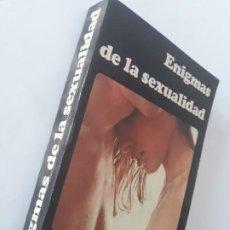 Libros de segunda mano: ENIGMAS DE LA SEXUALIDAD/ EDICIONES DIAMON, 1° ED.1970. Lote 207667690