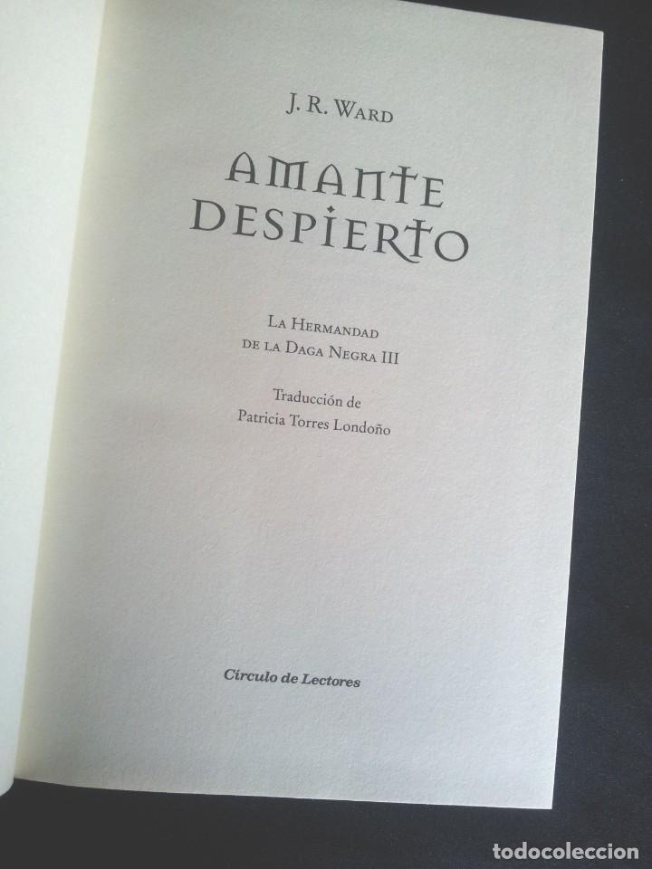 Libros de segunda mano: J.R.WARD - SAGA DE LA HERMANDAD DE LA DAGA NEGRA (5 TOMOS) - CIRCULO DE LECTORES 2010 - Foto 3 - 207872148