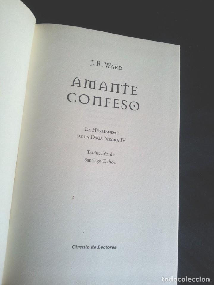 Libros de segunda mano: J.R.WARD - SAGA DE LA HERMANDAD DE LA DAGA NEGRA (5 TOMOS) - CIRCULO DE LECTORES 2010 - Foto 5 - 207872148
