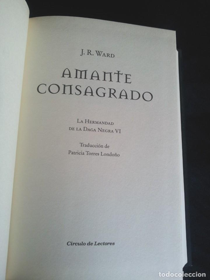 Libros de segunda mano: J.R.WARD - SAGA DE LA HERMANDAD DE LA DAGA NEGRA (5 TOMOS) - CIRCULO DE LECTORES 2010 - Foto 9 - 207872148