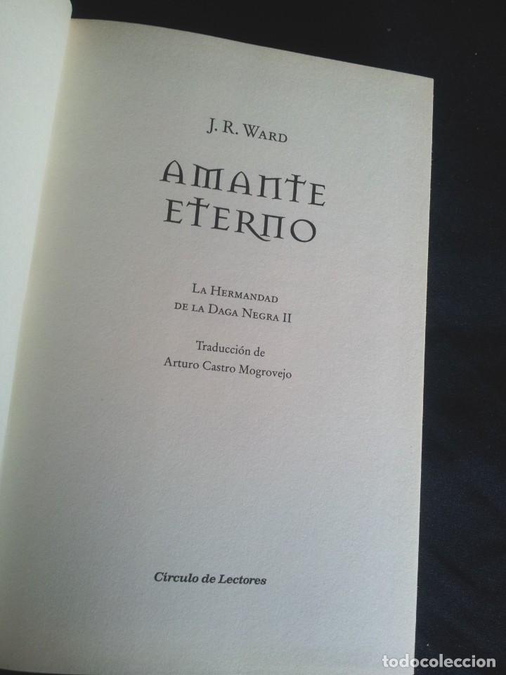 Libros de segunda mano: J.R.WARD - SAGA DE LA HERMANDAD DE LA DAGA NEGRA (5 TOMOS) - CIRCULO DE LECTORES 2010 - Foto 11 - 207872148