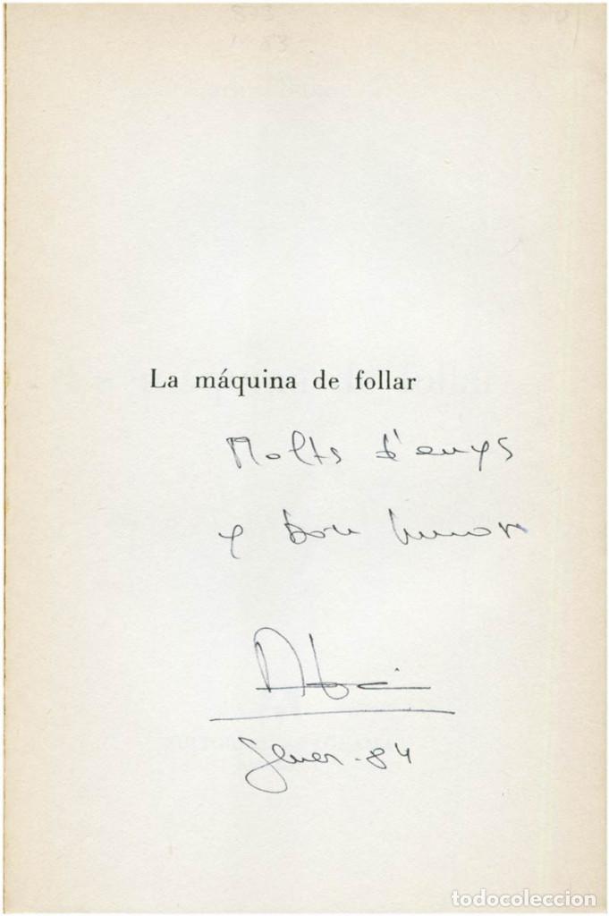 Libros de segunda mano: Bukowski - La máquina de follar - Ed. Anagrama, Contraseñas #9 - Barcelona, 1982 (3ª Ed.) - Foto 3 - 209392731