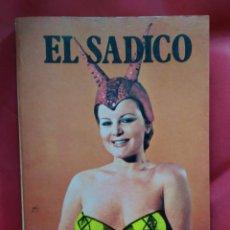 Livros em segunda mão: EL SÁDICO, CLIFF MAXWELL. L.14131-323. Lote 209902358