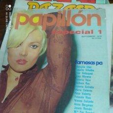 Livros em segunda mão: REVISTAS PAPILLÓN, ESPECIAL 1, SEPTIEMBRE 1976. PARA ADULTOS. REV-5. Lote 210184841