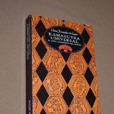 Libros de segunda mano: KAMASUTRA UNIVERSAL. EL SEXO ALREDEDOR DEL MUNDO. CHIMO FERNÁNDEZ DE CASTRO. EDICIONES TEMAS DE HOY.. Lote 210594261