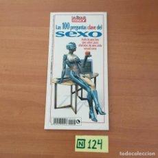 Libros de segunda mano: LAS 100 PREGUNTAS CLAVE DEL SEXO. Lote 211450946