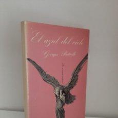 Libros de segunda mano: EL AZUL DEL CIELO, GEORGES BATAILLE, NOVELA EROTICA / EROTIC NARRATIVE, TUSQUETS EDITORES, 1985. Lote 211579080