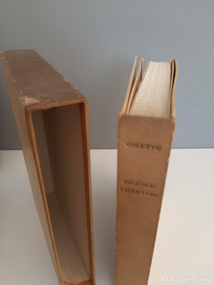 Libros de segunda mano: L´INGENUE LIBERTINE, COLLETE, NARRATIVA EROTICA, EJEMPLAR NUMERADO 2076 DE 3000, AÑOS 40 - Foto 2 - 213273892