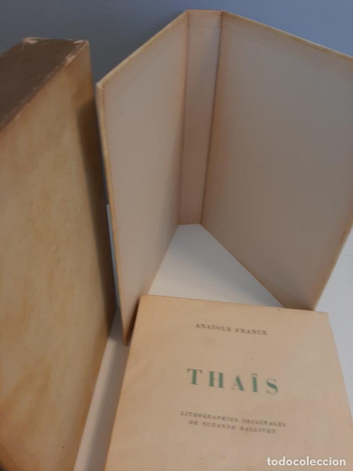 Libros de segunda mano: THAIS, ANATOLE FRANCE, NARRATIVA EROTICA, EJEMPLAR NUMERADO 974 DE 4000, AÑOS 40 - Foto 2 - 213276387